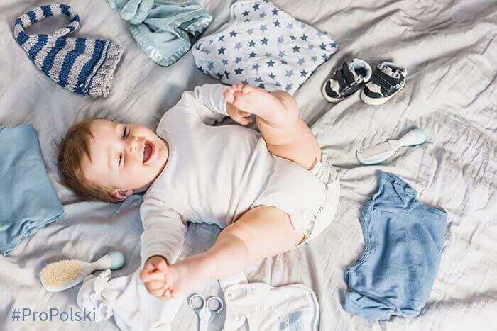Детская одежда и аксессуары для детей на польском языке