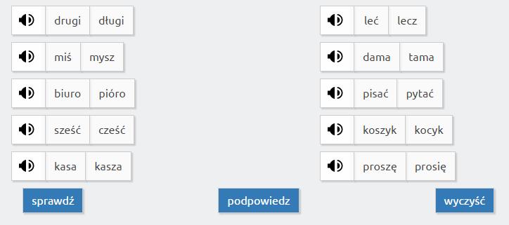 PoPolskuPoPolsce - примеры тестов