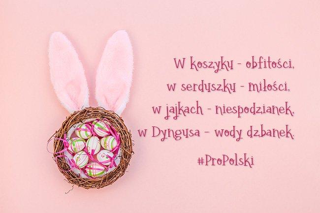 Wesołych Świąt Wielkanocnych życzy ProPolski