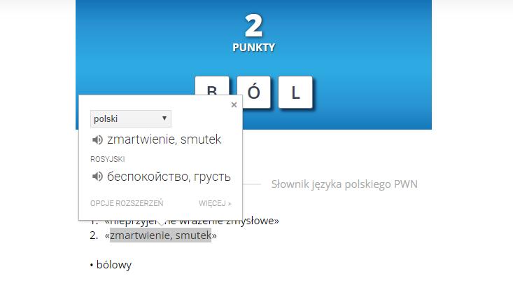Пазлы от Słownik Języka Polskiego PWN