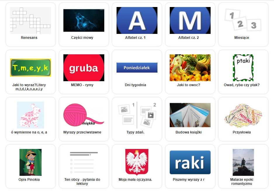 Онлайн - игры для изучения польского языка