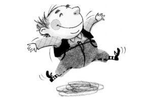 Карлсон на польском языке, глава 1, чтение сказки + разбор