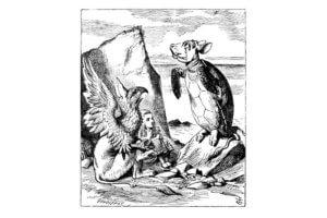 Алиса в стране чудес на польском языке, чтение 9 главы + разбор