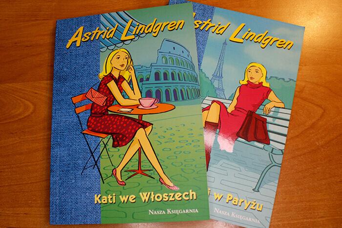 """Серия для девочек """"Кати в..."""" / Kati w..., Книги Астрид Линдгрен на польском языке"""