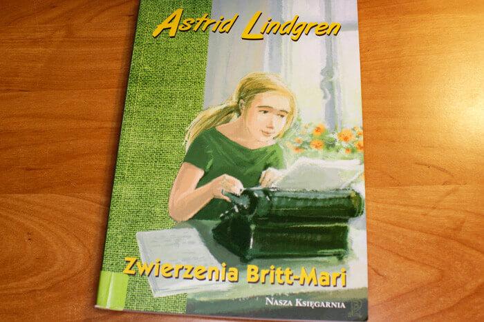 Бритт-Мари изливает душу / Zwierzenia Britt-Mari, Книги Астрид Линдгрен на польском языке