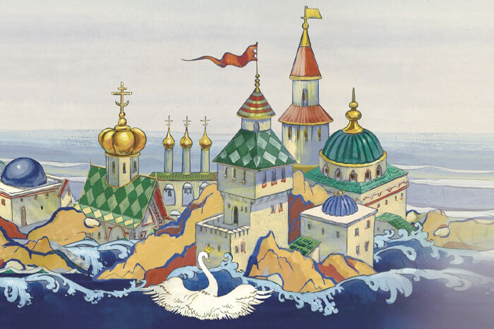 "А. С. Пушкин ""Сказка о царе Салтане"" на польском   Билингва"