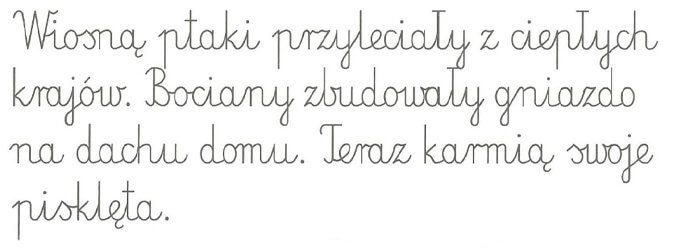 Польские прописи, каллиграфия: пишем красиво по-польски от руки